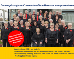 najaar concert zangvereniging Crescendo en het koor van het THHM